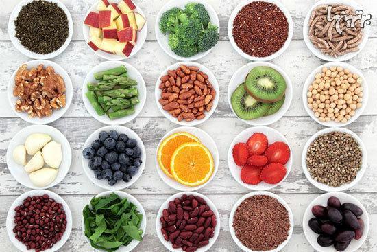 غذا هایی با آنتی اکسیدان های فراوان